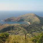 Hanauma Bay from the top