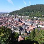 Heidelberg city view from Castle 1