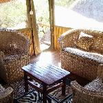 Lounge at Family Unit/Pezulu Tree House Lodge