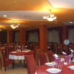 Restaurant's main dining room