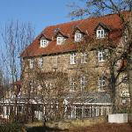 Haupthaus mit Wintergarten-Resaurant
