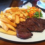 Entrecote Steak and Fries from 89NIS menu