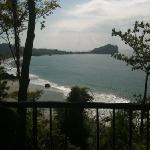 view from patio seating at El Mirador
