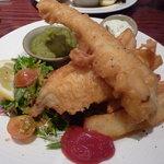 fabulous fish & chips £10.55