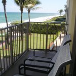 Enjoy the ocean breeze from your balcony