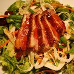 Chef's composed salad of the week - Duck Breast!