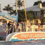 Spirit of Lauderdale zoomed in