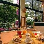 colazione alla masseria Specolizzi nel salento