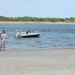 Barrier Island Beach Day