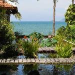 jardin vue mer