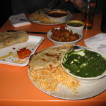 Bombay Express meal
