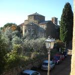 Sovana Romantik Hotel & Resort - View from the room on Sovana Duomo