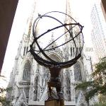 atlas with st. patricks cathedral
