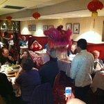 Chinese new year at hop sing