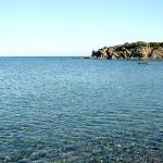 La caletta di Glystra, a pochi km da Lardos Beach