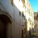 El hotel, en la Calle Ballesteros