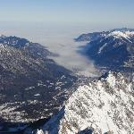 Garmisch from Zugspitze
