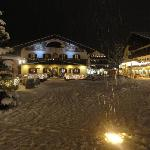 Garmisch like a fairy tale view