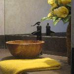 Lovely Handmade Marble Vessel Sinks in Bathrooms