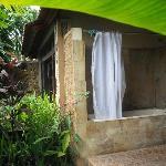 Balinese style bathroom