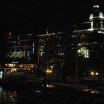 foto notturna del park hotel