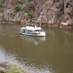 The Tamar river gorge