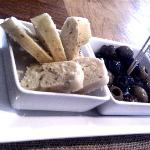 Complimentary Antipasti, to nibble on while you wait...