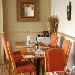 Our cosy restaurant...