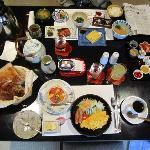 breakfast (wester and japanes stye)