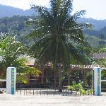 Beach front gate