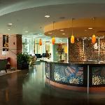 Hotel Indigo- Asheville Downtown lobby