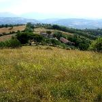 private villa set in 20 acres of untouched farmland near Perugia