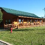 Log Event Hall Exterior