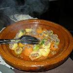 piatto della ottima cuoca Hafida