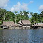marasha lodge from the lake