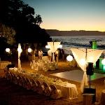 Esman's set up for our wedding