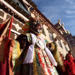 festival at Songzanlin Monastery
