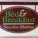 Sign B&B Vecchio Mulino