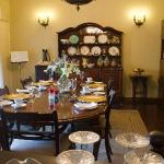 gracious dining room