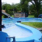 la piscina de lujo!!!