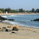 Patnem Beach from the NW