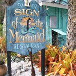 Sign of The Mermaid Foto