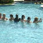Gimnasia en la piscina