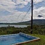 Vista sul Vulcano e il lago