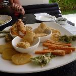 """un plat  """"tempura"""""""