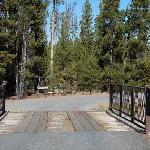 A small bridge on your way to the campground from the highway.