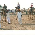 Camel safari from Roop Mahal