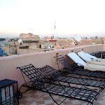 le solarium en terrasse