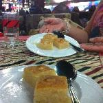 Cocanut cake at Kanzaman