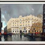 Madrid Streets inspire painters